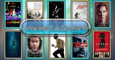 Ten Drama Movies Like The King's Speech (2010)
