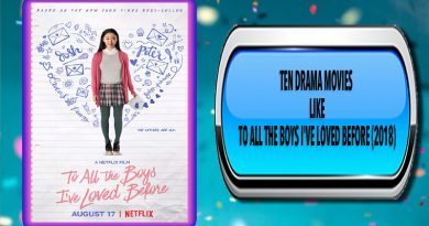 Ten Drama Movies Like To All the Boys I've Loved Before (2018)