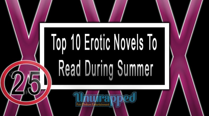 Top 10 Erotic Novels To Read During Summer