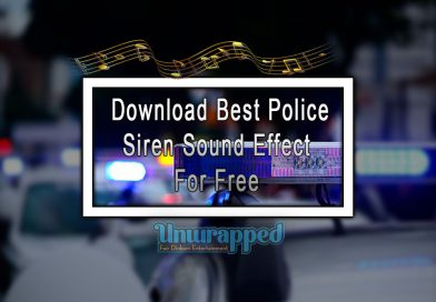 Download Best Police Siren Sound Effect For Free