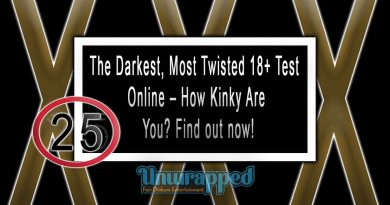 The Darkest, Most Twisted 18+ Test Online – How Kinky Are You? Find out now!