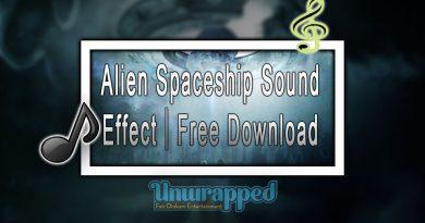 Alien Spaceship Sound Effect|Free Download