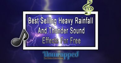Best Selling Heavy Rainfall and Thunder Sound Effects For Free
