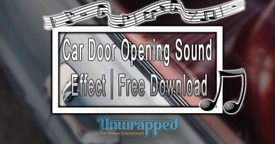 Car Door Opening Sound Effect|Free Download