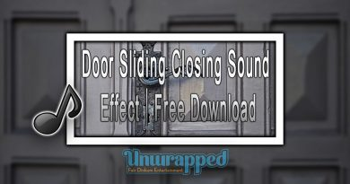 Door Sliding Closing Sound Effect|Free Download