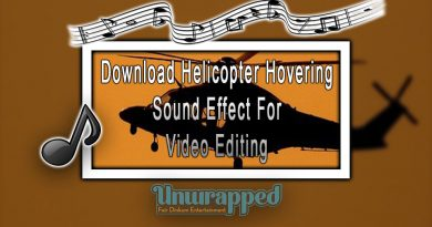 Download Helicopter Hovering Sound Effect For Video Editing