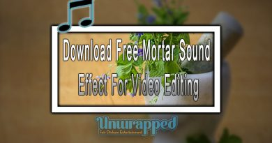 Download Free Mortar Sound Effect For Video Editing