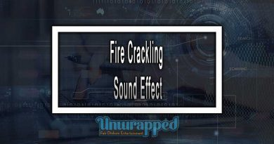 Fire Crackling Sound Effect
