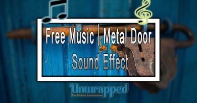 Free Music|Metal Door Sound Effect