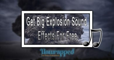 Get Big Explosion Sound Effects For Free