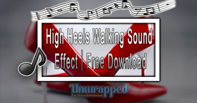 High Heels Walking Sound Effect|Free Download