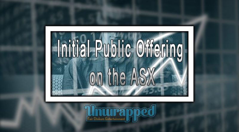 Initial Public Offering on the ASX