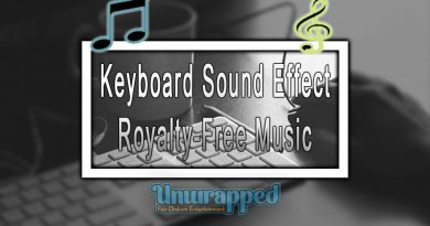 Keyboard Sound Effect|Royalty-Free Music