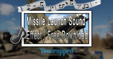 Missile Launch Sound Effect|Free Download