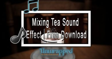 Mixing Tea Sound Effect|Free Download