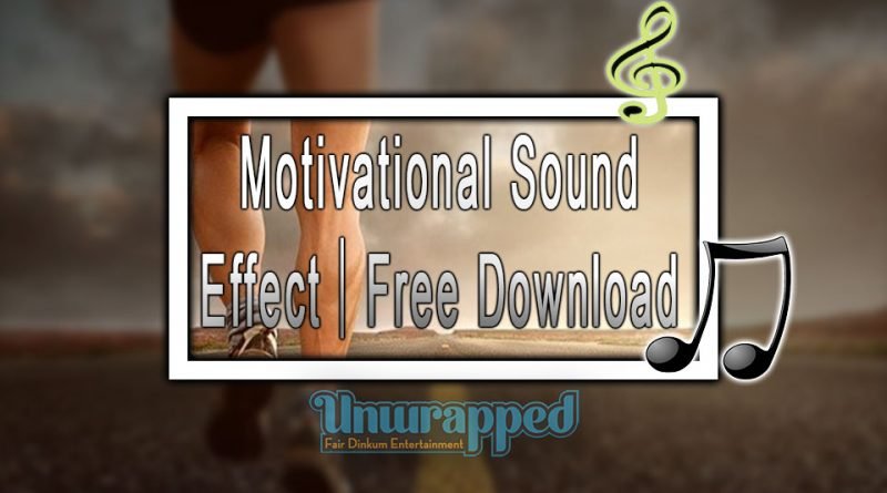 Motivational Sound Effect|Free Download