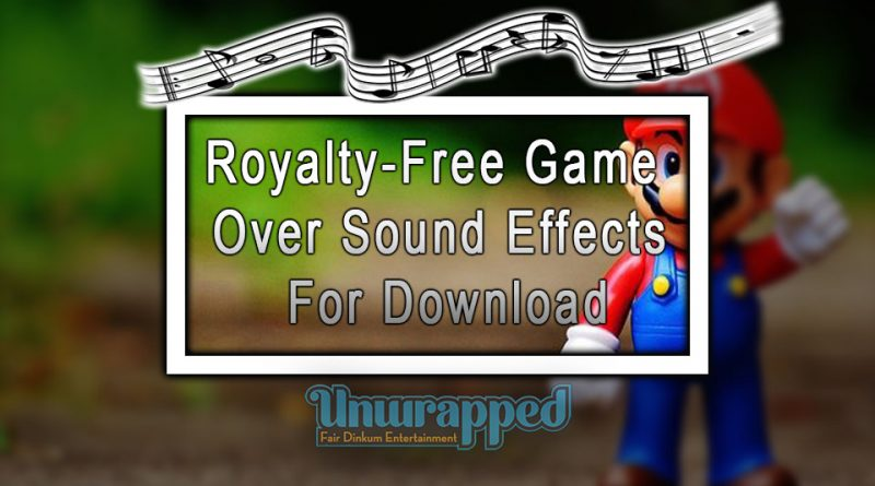 Royalty-Free Game Over Sound Effects For Download