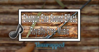 Shotgun Fire Sound Effect|Royalty-Free Music