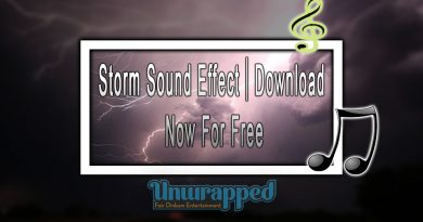 Storm Sound Effect|Download Now For Free