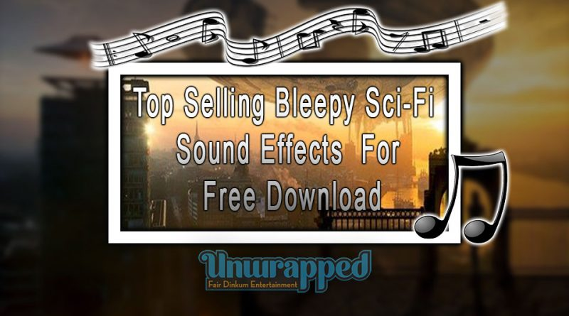 Top Selling Bleepy Sci-Fi Sound Effect For Free Download