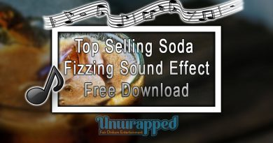 Top Selling Soda Fizzing Sound Effect|Free Download