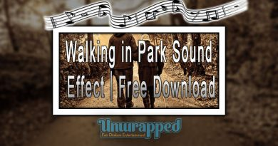Walking in Park Sound Effect|Free Download