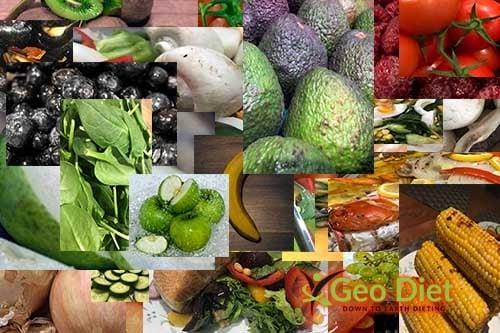 Geo Diet Fruit selections