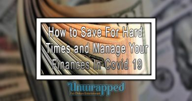 How to Save For Hard Times and Manage Your Finances In Covid 19