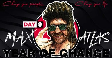 Max Atlas Year Of Change Fit By 40 Day 9