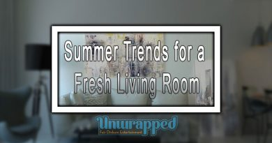 Summer Trends for a Fresh Living Room