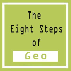 The eight step of geo