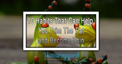 10 Habits That Can Help You Trim The Fat and Become Thin