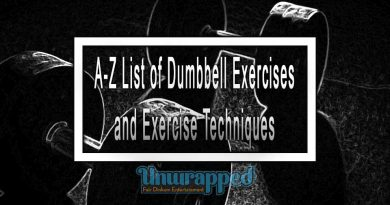 A-Z List of Dumbbell Exercises and Exercise Techniques
