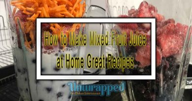 How to Make Mixed Fruit Juice at Home Great Recipes