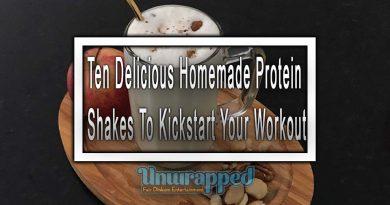 Ten Delicious Homemade Protein Shakes To Kickstart Your Workout