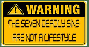 7 deadly sins not a roadmap