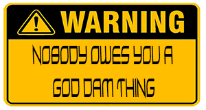 Mandatory New Think Warning Reg:FO99