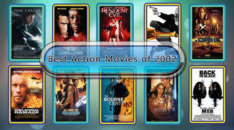 Best Action Movies of 2002