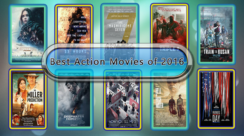 Best Action Movies of 2016