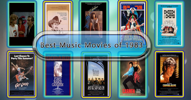 Best Music Movies of 1983