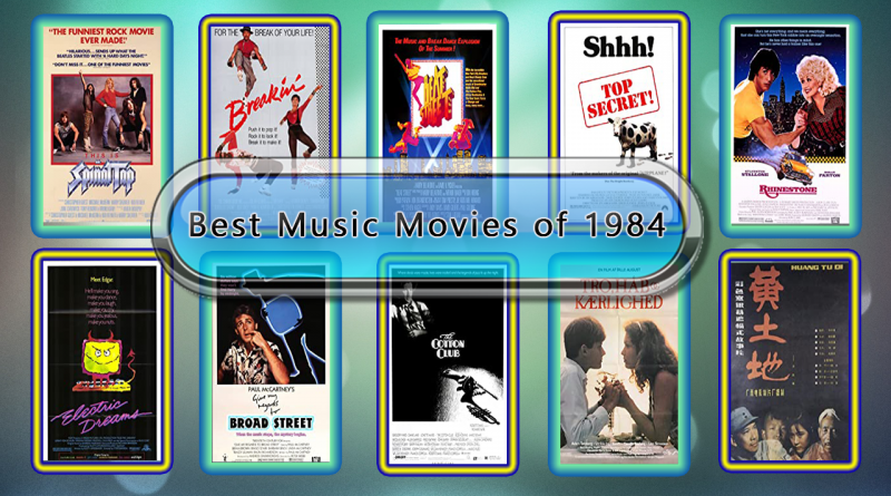 Best Music Movies of 1984