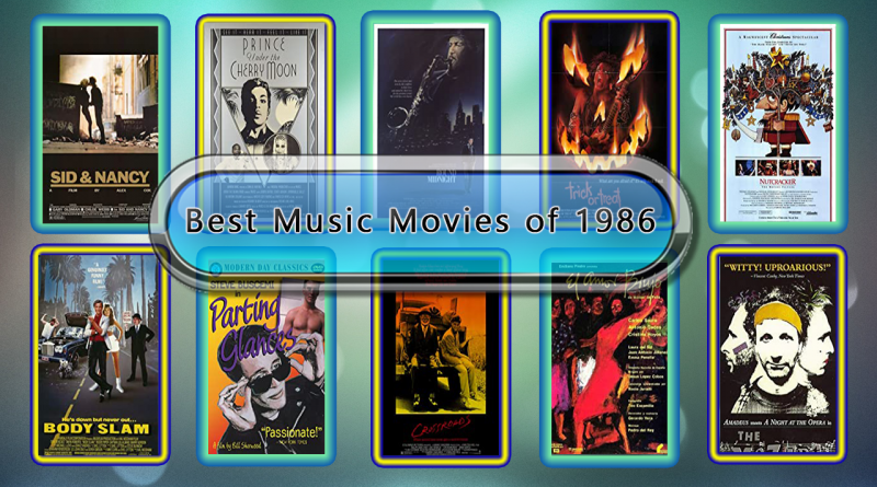 Best Music Movies of 1986