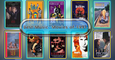 Best Music Movies of 1991