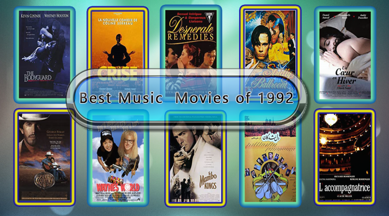 Best Music Movies of 1992