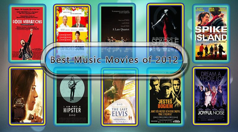Best Music Movies of 2012