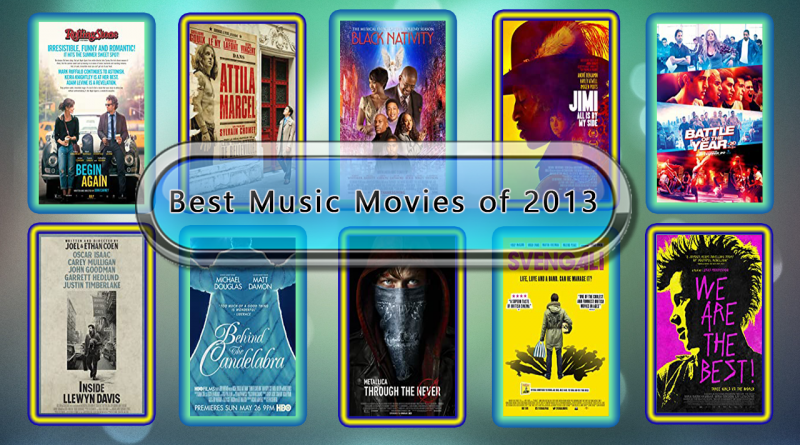 Best Music Movies of 2013