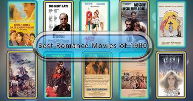 Best Romance Movies of 1980