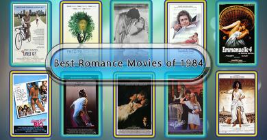 Best Romance Movies of 1984