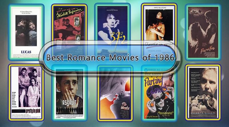 Best Romance Movies of 1986