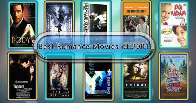 Best Romance Movies of 2001